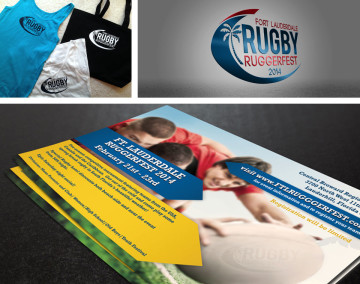 2014 Ruggerfest marketing material