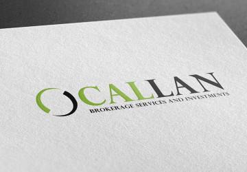 O Callan logo design
