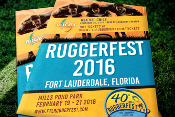 2016 Ruggerfest Posters